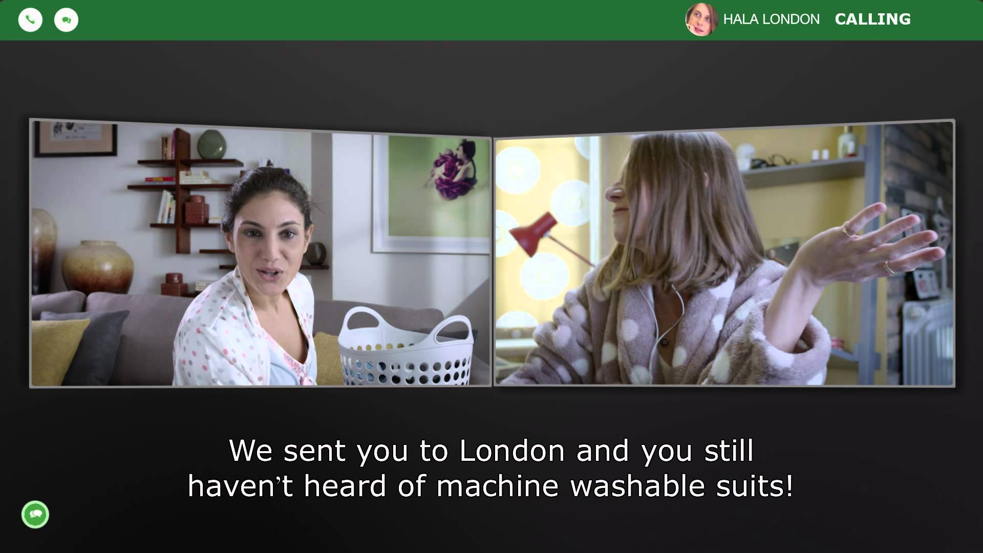 Marks & Spencer London calling